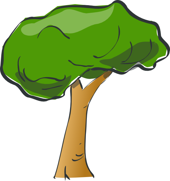 Tree png cartoon. Clip art at clker