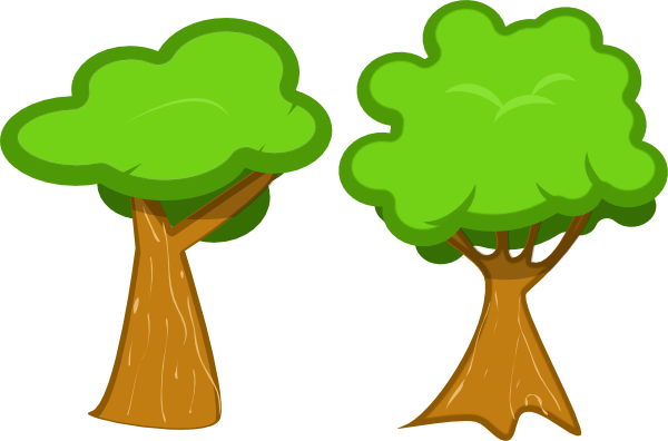 Tree png cartoon. Clipart for kids at