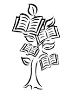 Trees clipart book. Pages of tree publications