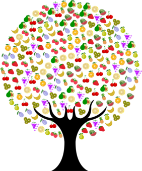 Trees clipart fruit. Tree apple passion free