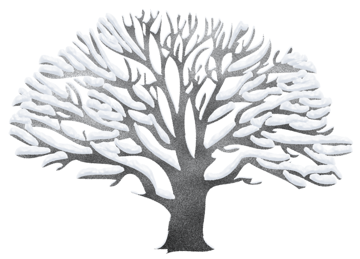 Trees clipart winter. Tree ping