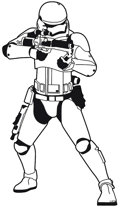 Trench drawing stormtrooper. Head at getdrawings com