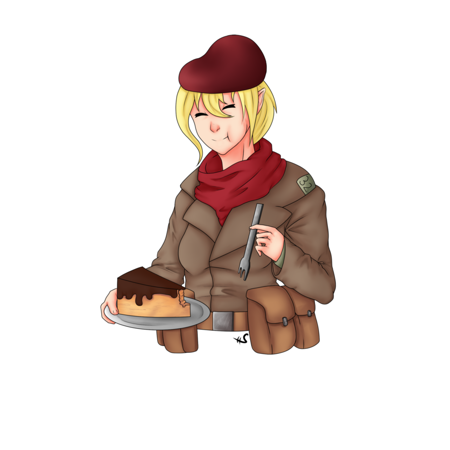 Trenches drawing animated. Trench cake by estragon