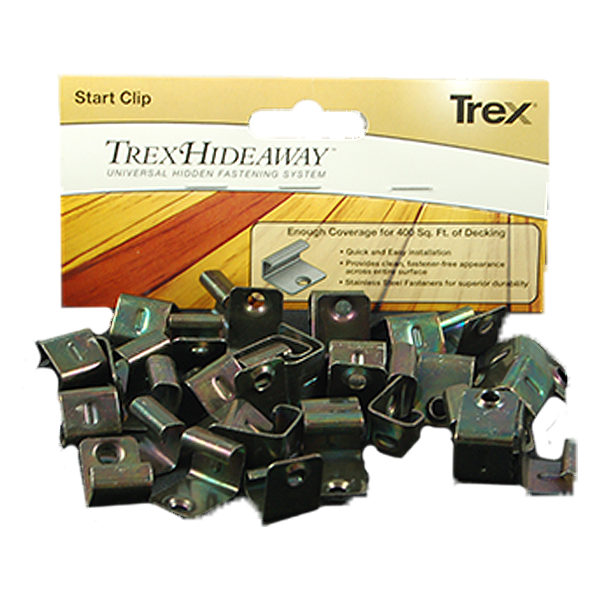 Trex clip starter. Hideaway start the deck