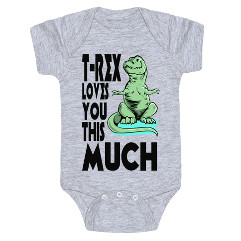 Trex png baby. Onesies lookhuman loves you