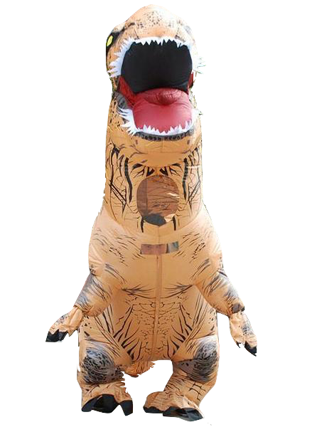 Trex png inflatable. T rex costume top