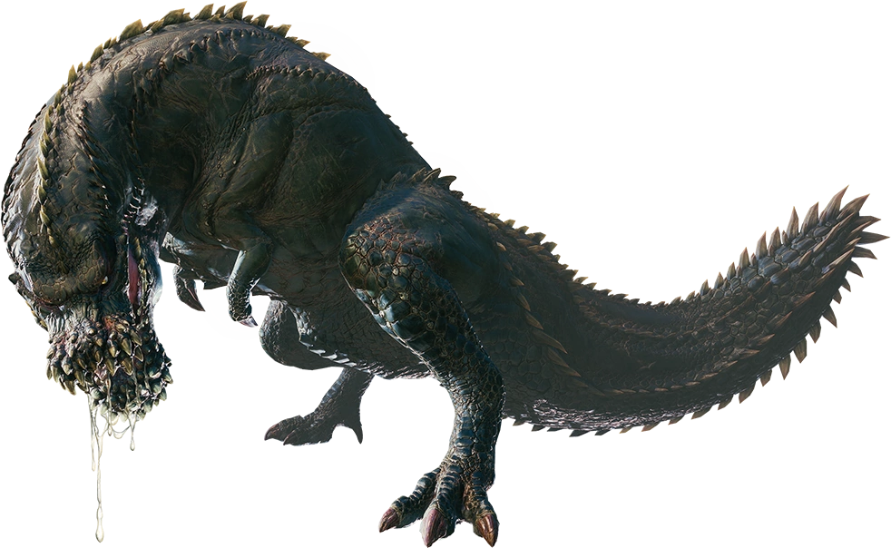 trex png monster hunter