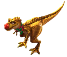 Trex png red. Image nosed ice age