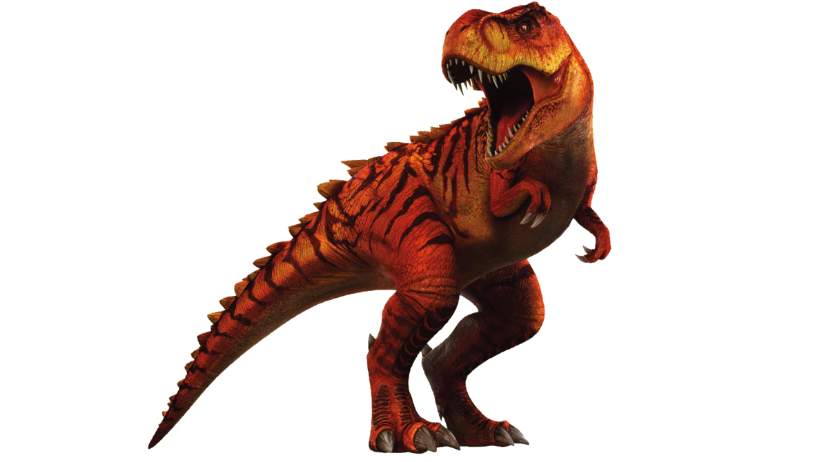 Trex png red. Jurassic world the game