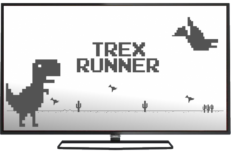 Trex png runner. Update now supports android