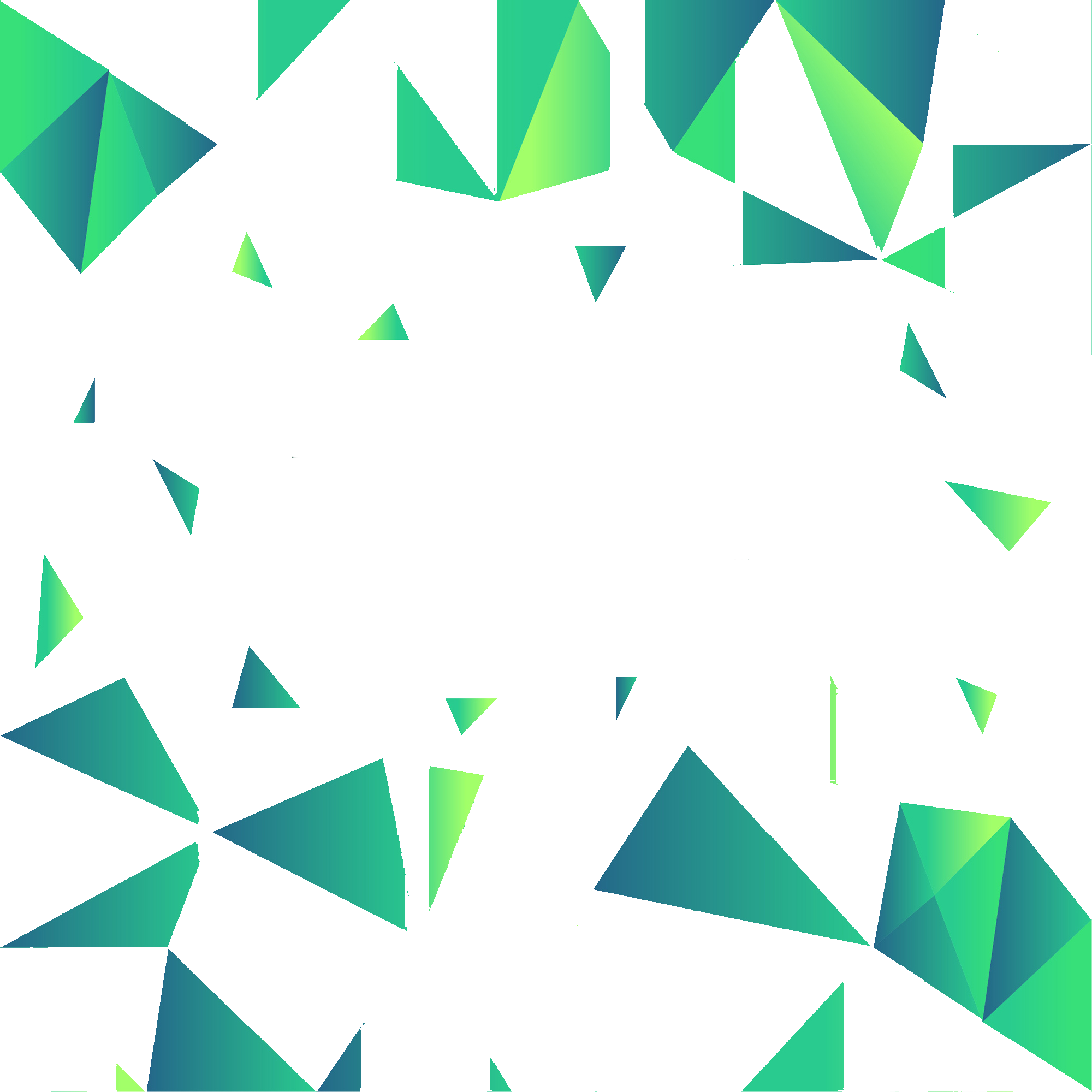Triangle background png. Green geometric backgrounds vector