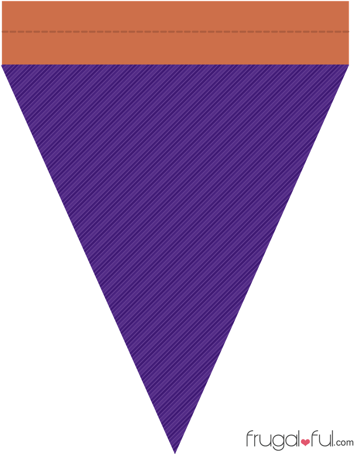 Purple triangle banner png. Download svg black and