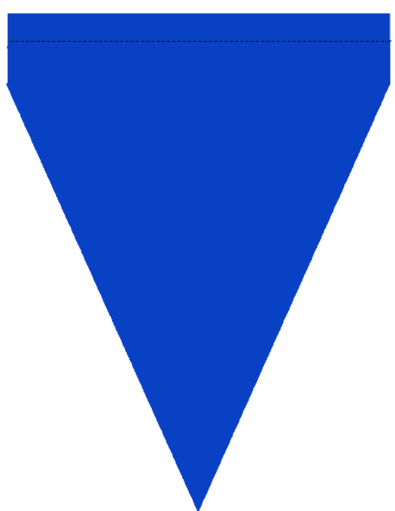 Triangle banner png. Free printable blue green