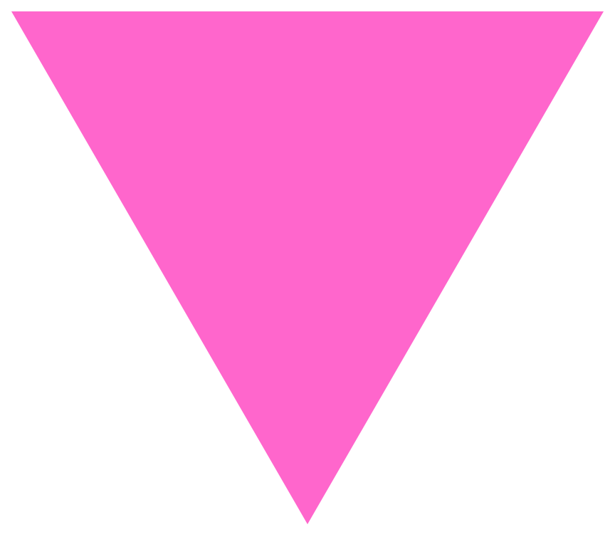 Triangle banner png. File pink svg wikimedia