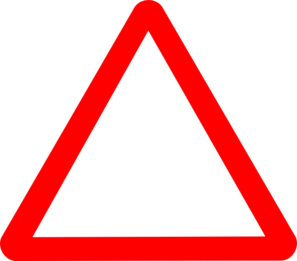 Red caution