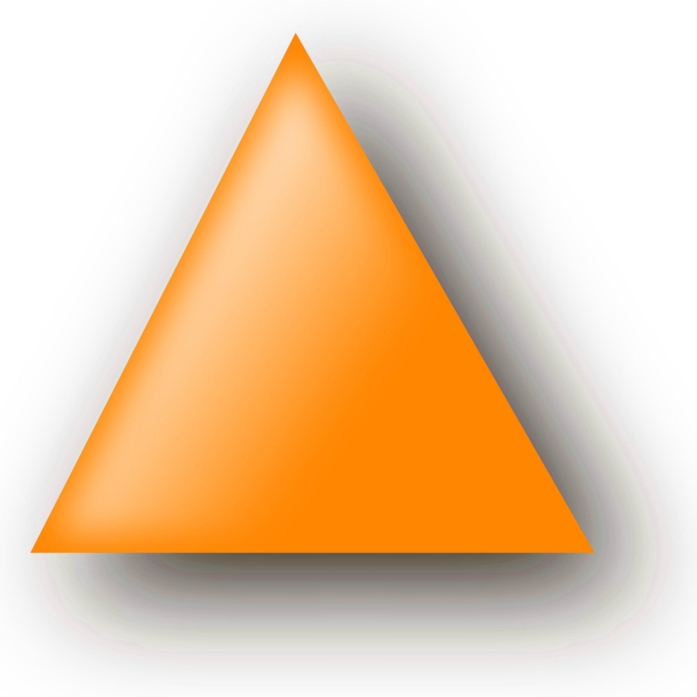 Orange big image png. Triangle clipart jpg library stock