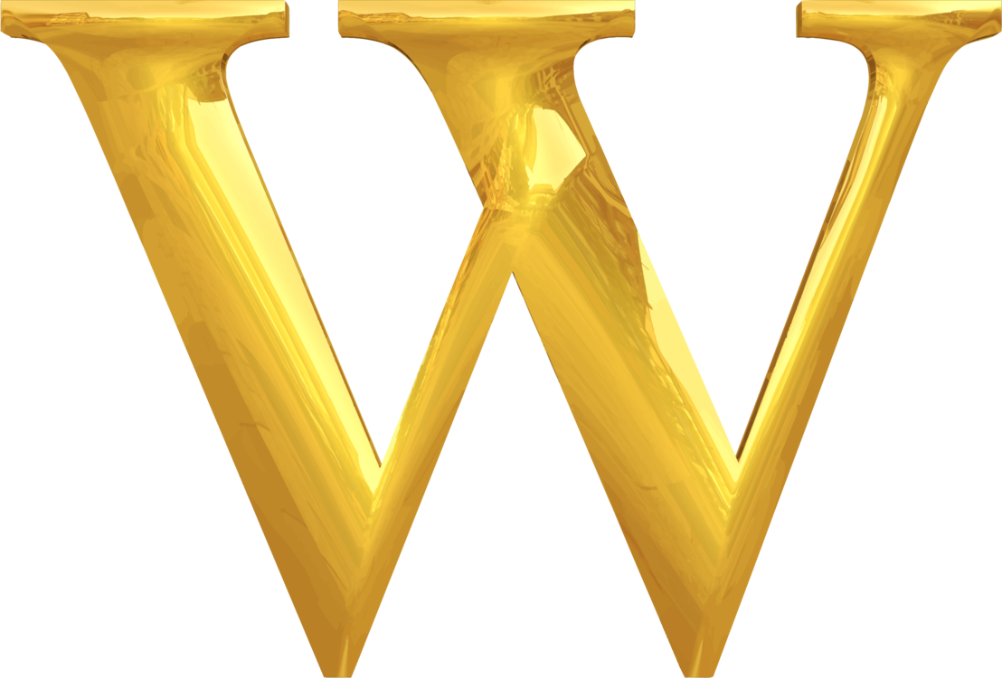 Triangle clip gold. Typography description free commercial