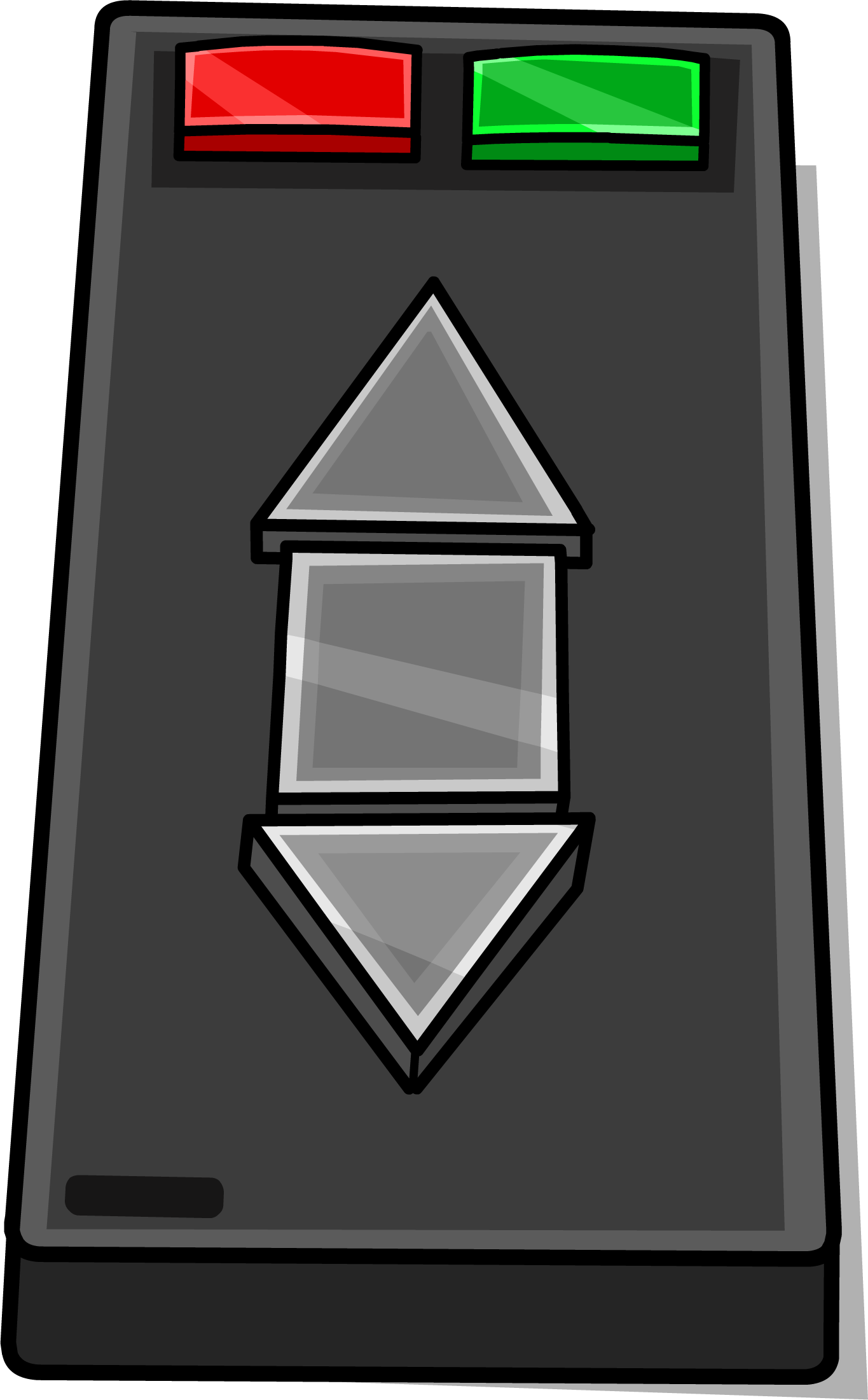 Triangle clip jumbo. Image remote sprite png