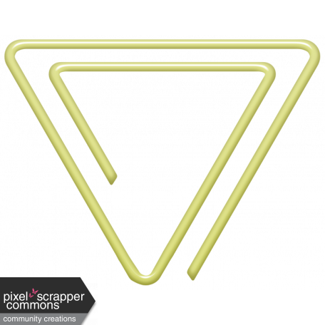 Triangle clip papper. Work from home plastic