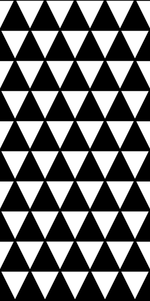 Triangle clip pattern. Free vector triangles equal