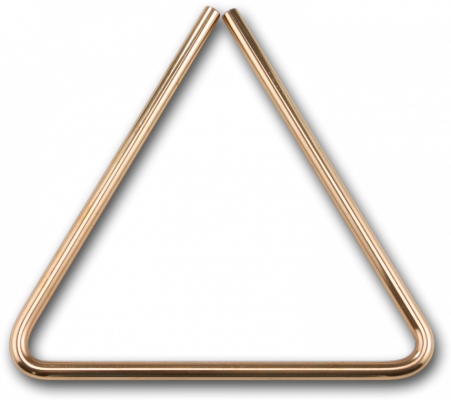 Triangle clip percussion instrument. Sabian b bronze long