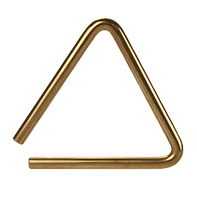 Triangle clip stainless steel. Black swamp percussion triangles