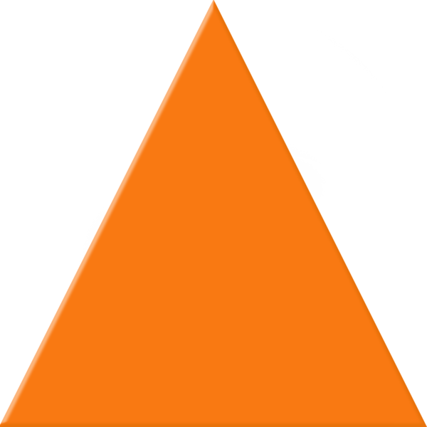 Orange free images at. Triangle clipart graphic freeuse stock