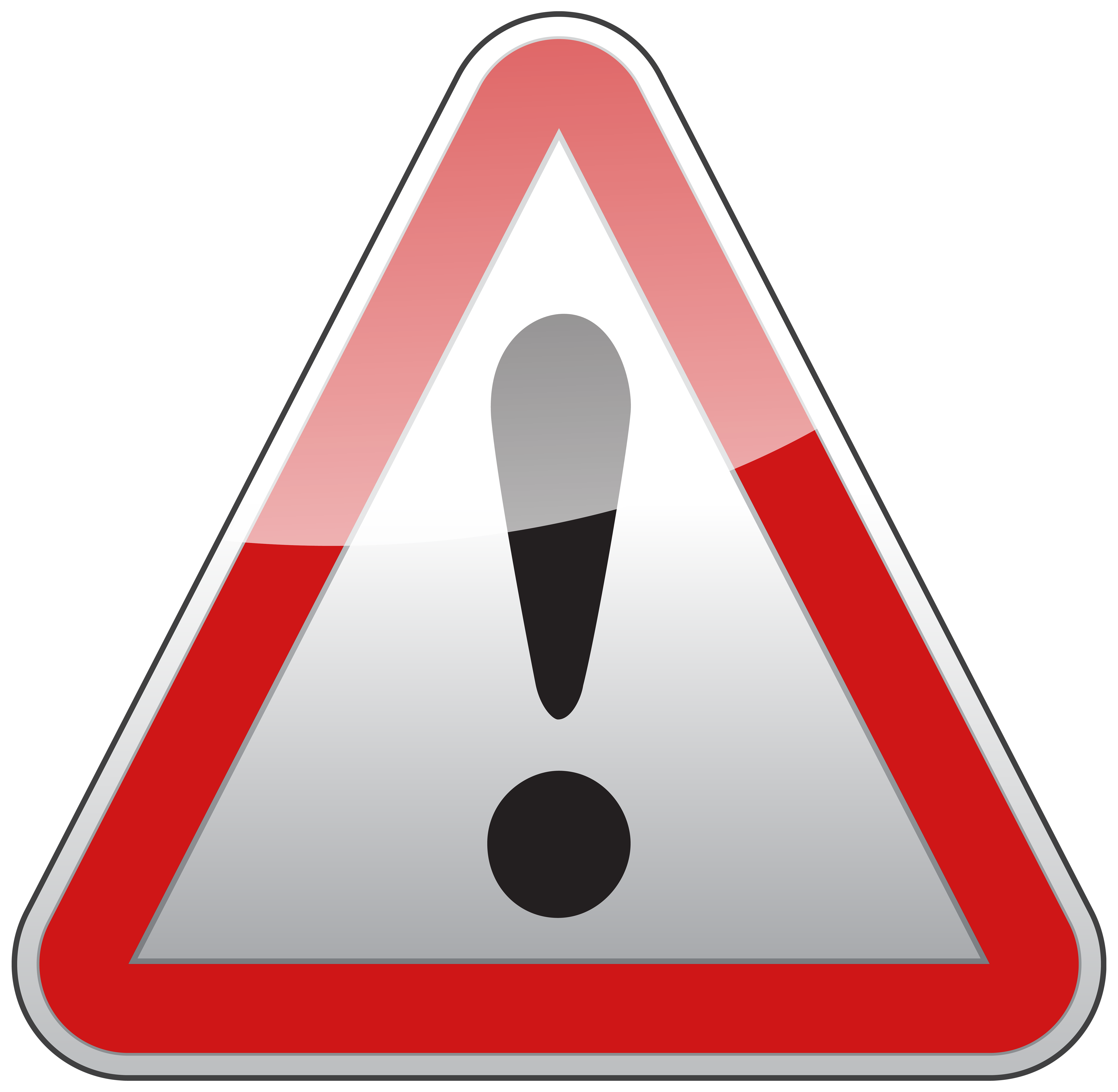 Triangle warning sign png. Caution clipart transparent picture free library