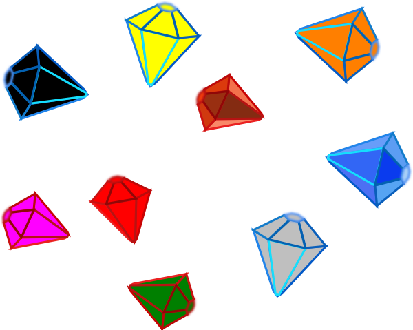 Gemstone vector gem