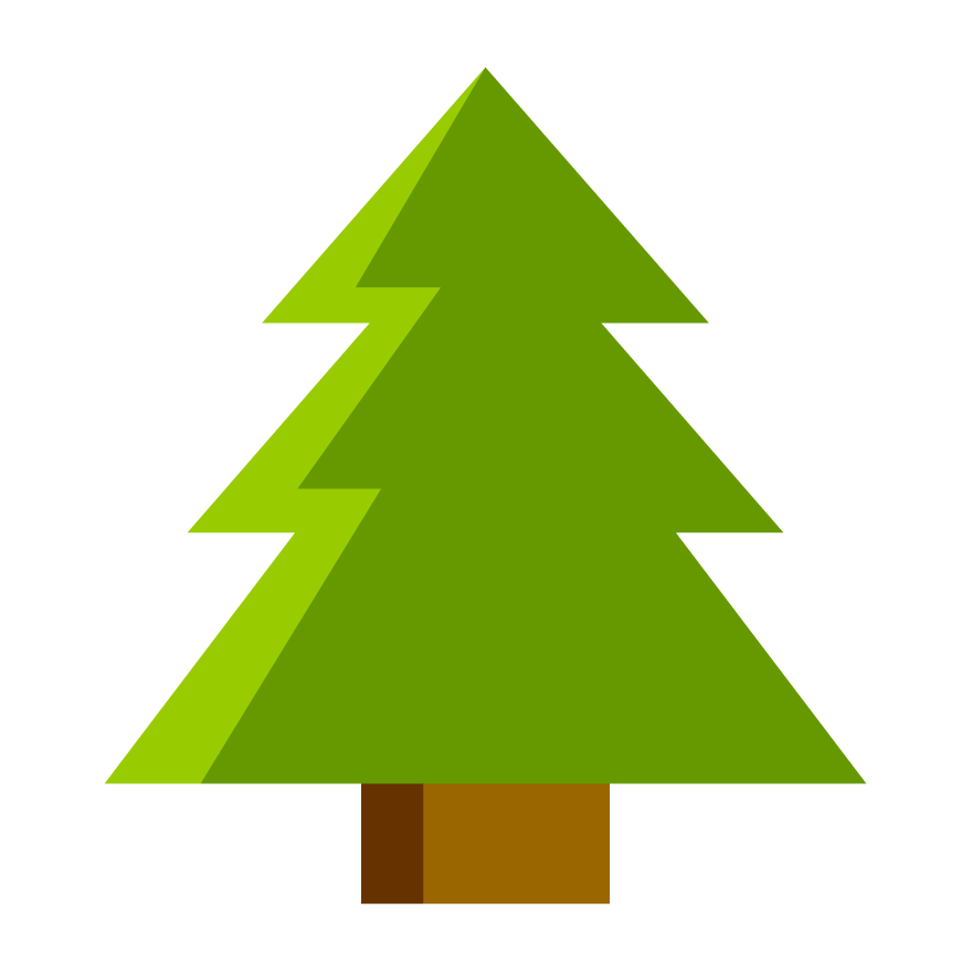 Triangle clipart tree. Search results brainpop plants