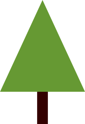 Triangle clipart tree. Images of template