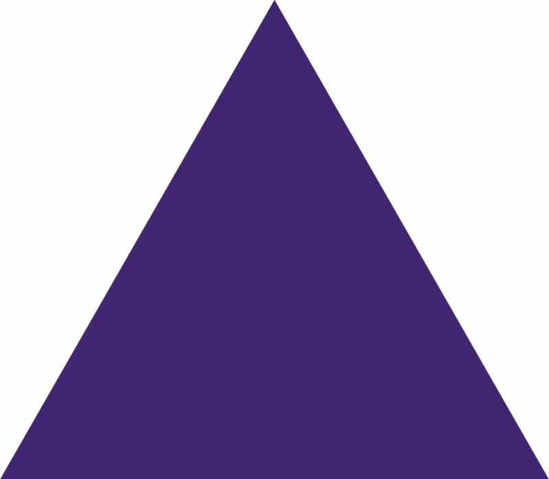 Triangle clip custom. Purple clipart