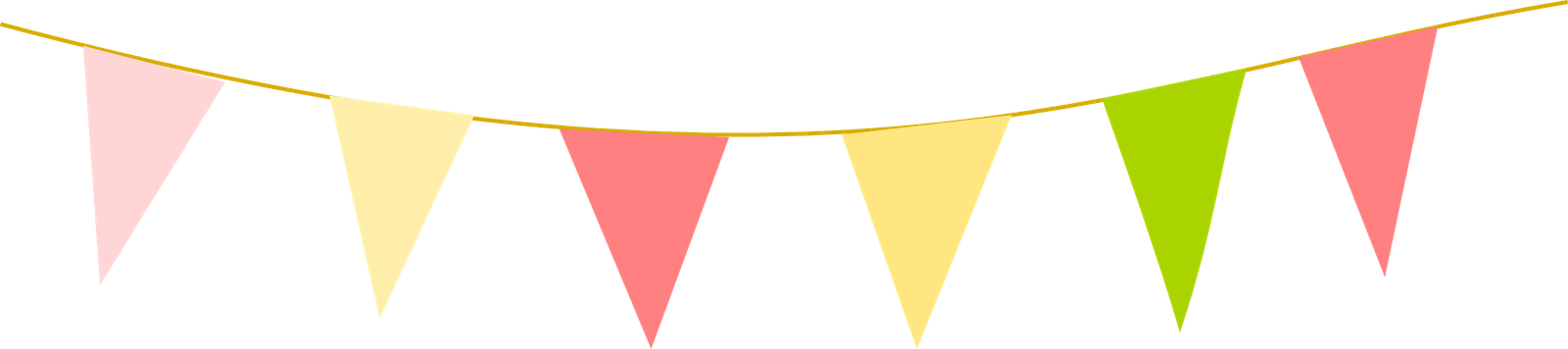 Triangle flag banner png. Collection of vintage