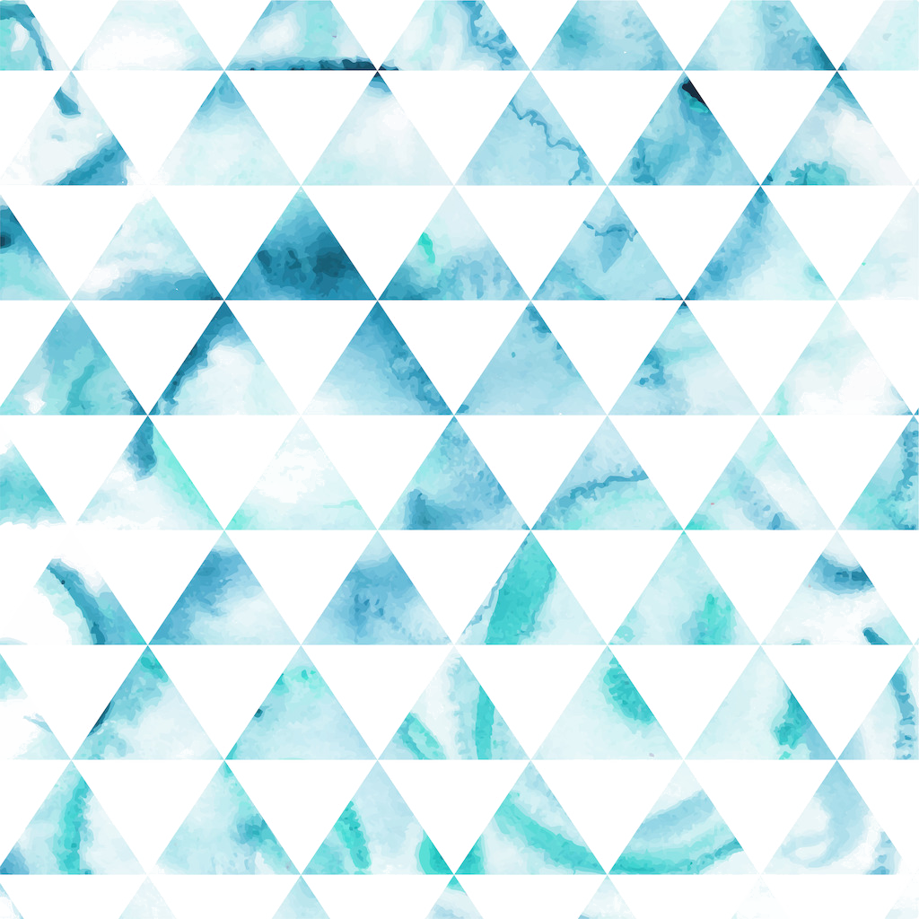 Triangle pattern png. Hipster watercolor background download