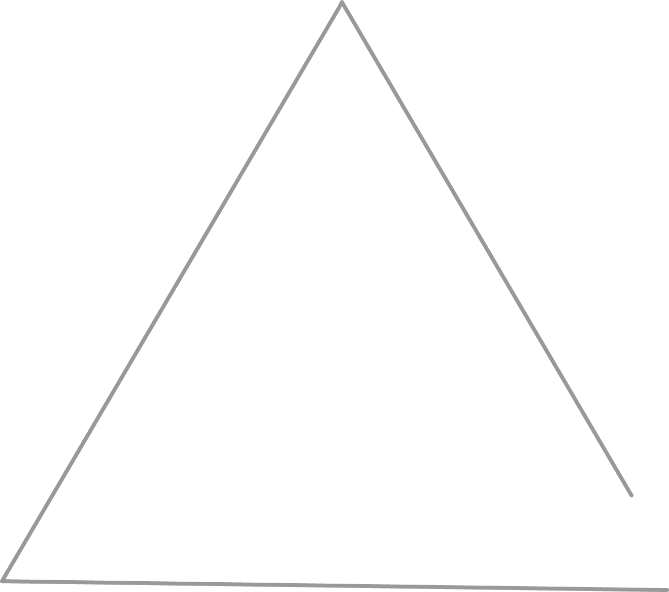 White triangle png. Free download mart