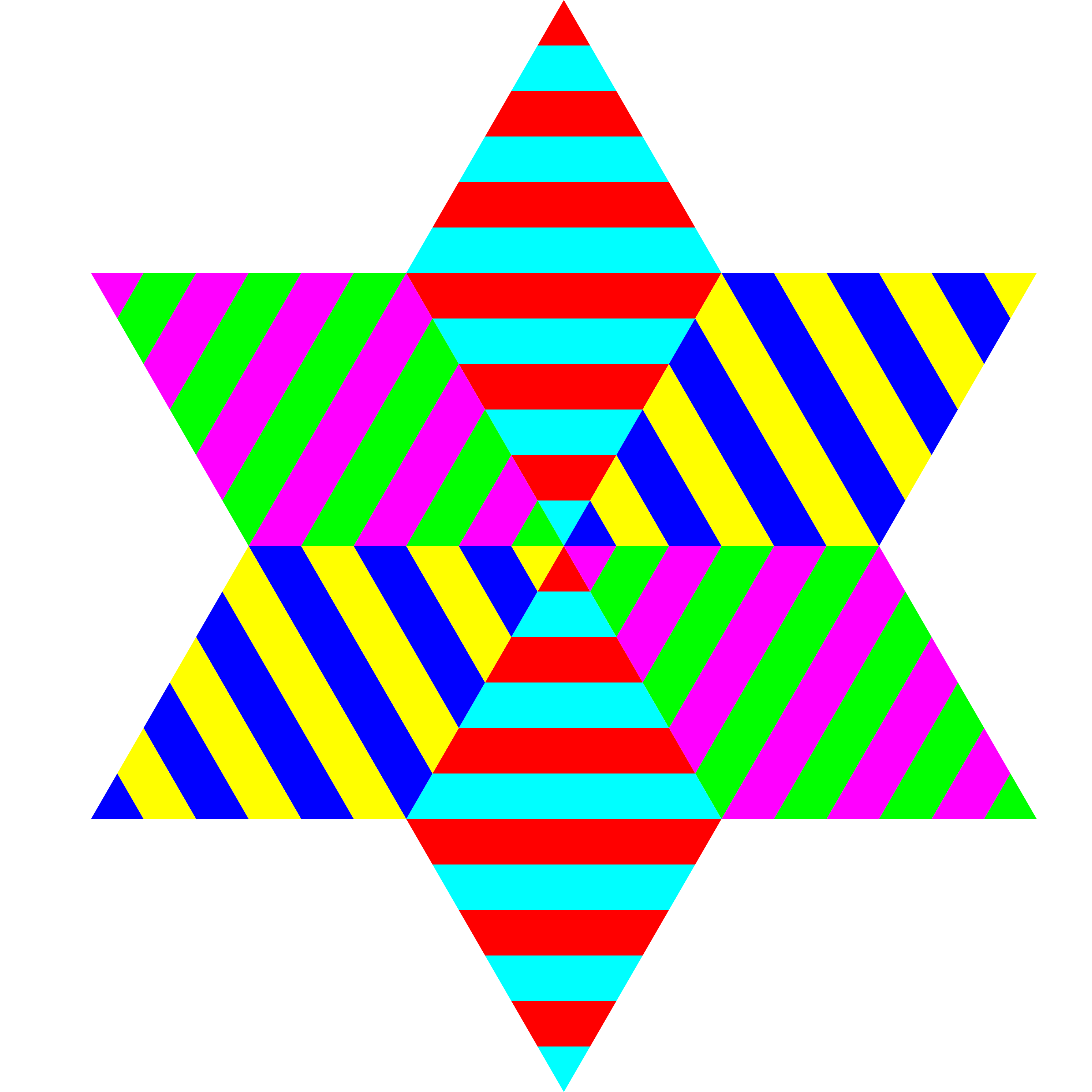 Triangle stripes png. Clipart hexagram big image
