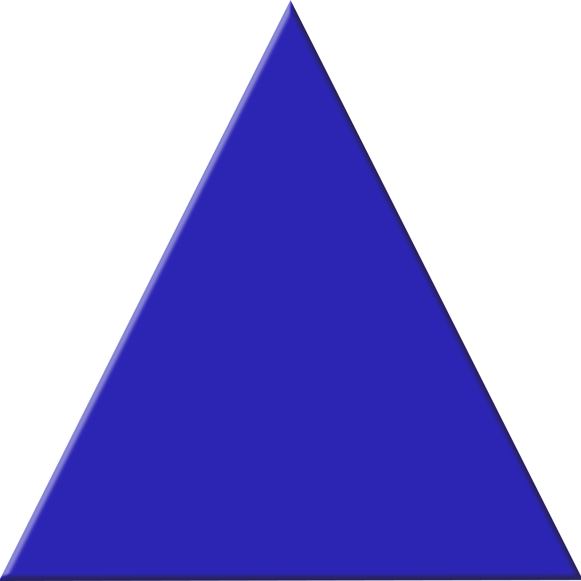 Triangle vector png. Blue free icons and