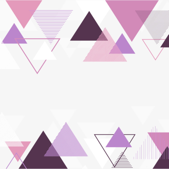 Triangular clipart purple triangle. Simple border texture png