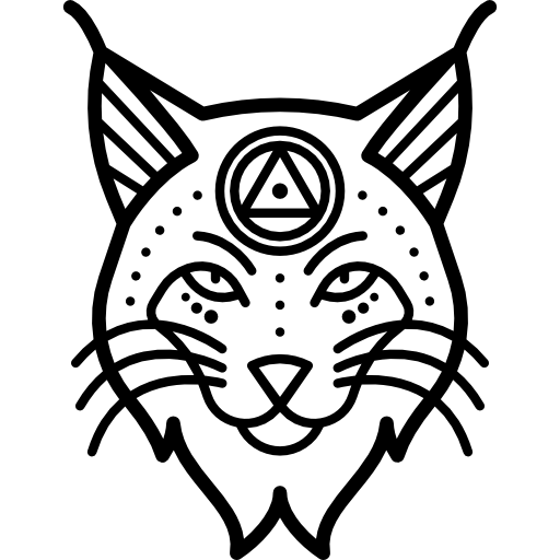 lynx vector tribal