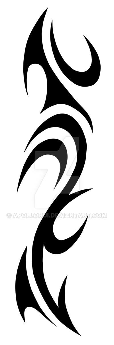 Tribal transparent band. Smoke by apollonui on