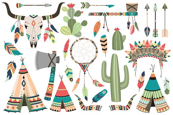 Clip art vector png. Tribal clipart banner black and white library