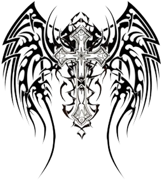 Tribal transparent celtic. Download tattoos png cross