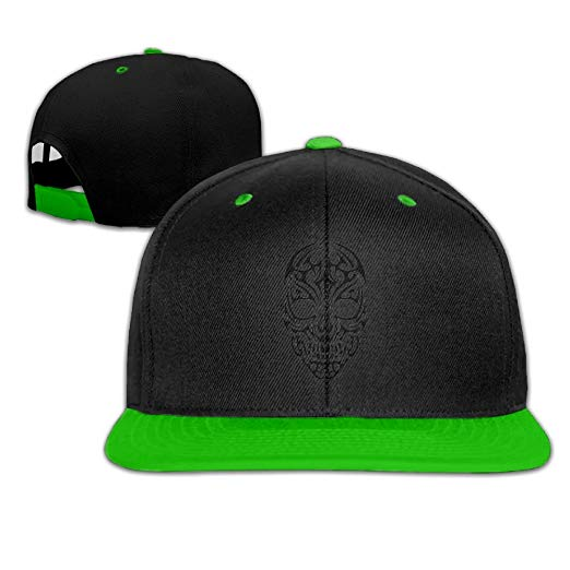 Skull hip hop flat. Tribal clipart hat picture royalty free stock