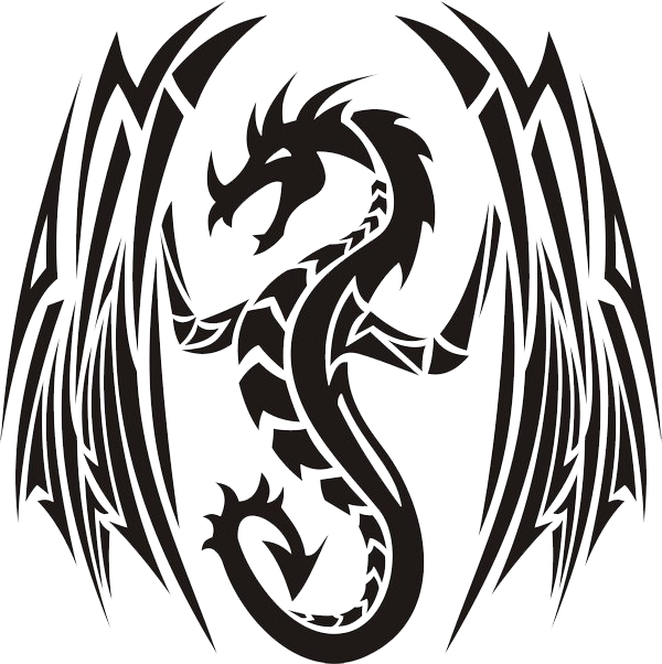 Tribal dragon png. Image by jhin one