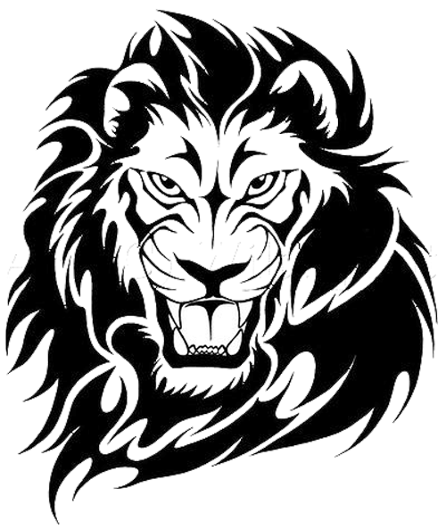 Tribal lion png. Image banner possible animal