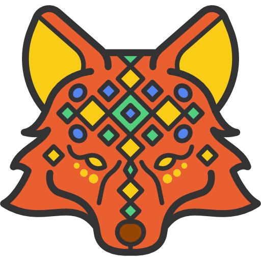 Tribal transparent cartoon. Icon png svg