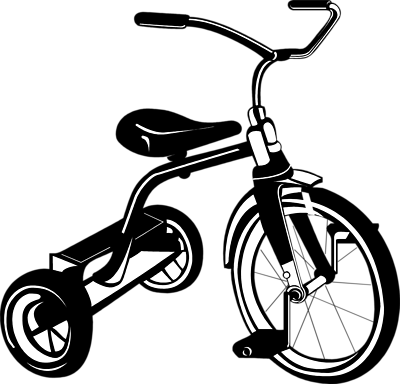 Tricycle clipart baby bike. Clip art library