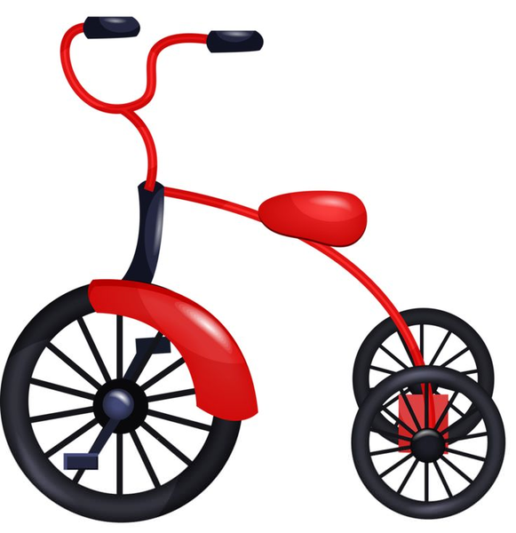 Free images at clker. Tricycle clipart banner freeuse library