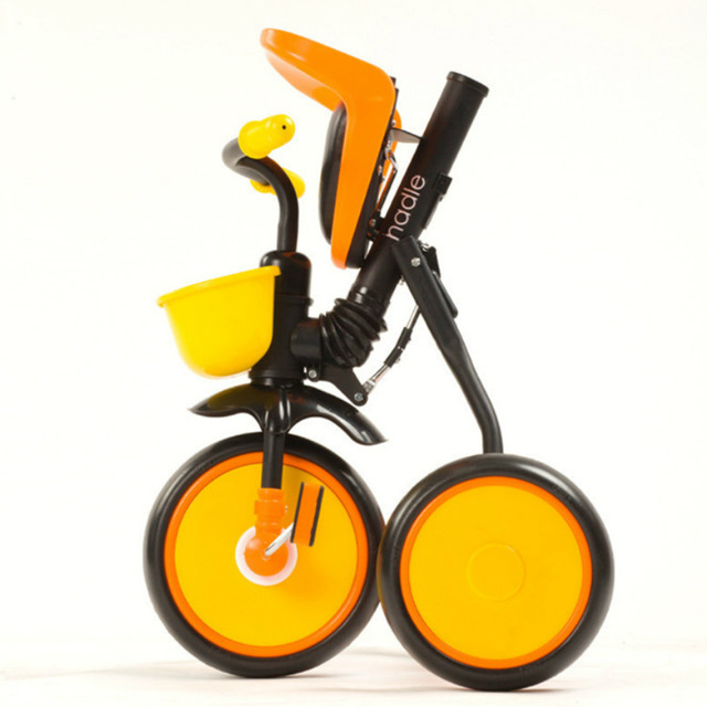 Tricycle clipart baby bike. Portable folding children to