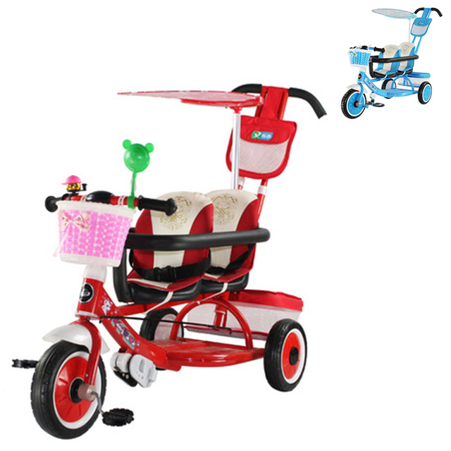 Tricycle clipart baby bike. Child twins bicycle double